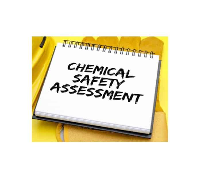 Blok påskrevet kemisk risikovurdering